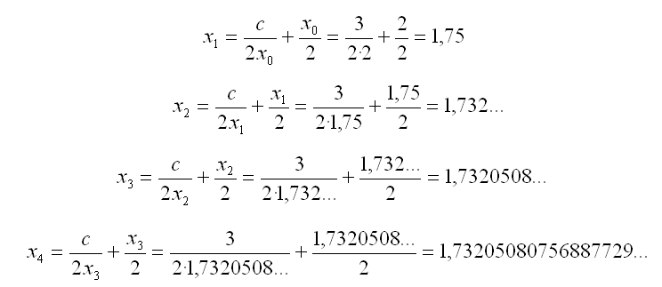 Un algortimo eficiente para calcular raíces cuadradas | Another Day ...