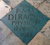 Dirac's_commemorative_marker