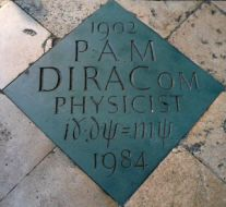 Dirac's_commemorative_marker